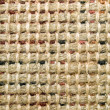 Burlap texture closeup background. — Stock Photo