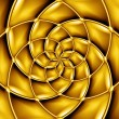 Concentric golden pattern. — Stock Photo #34796885