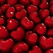 Stock Photo: Hearts background.