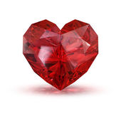 Jewel in the shape of heart. — Stock Photo