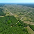 Deforestation. (Aerial view). — Stock Photo