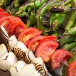 warzywa z grilla — Zdjęcie stockowe