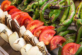 Grilled vegetables — 图库照片