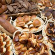 Bakery product assortment — Stok fotoğraf