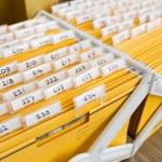 File cabinet — Stock Photo