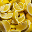 Stock Photo: Batch of lemon segments