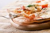 кусочек пиццы — Стоковое фото