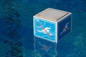 NO Swimming prohibition sign — Stock Photo