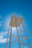 Lifeguard watch tower — Stock Photo