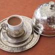 Traditional turkish coffee - Stock Photo