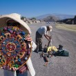 Stock Photo: Mayan calendar souvenir in Teotihuacan