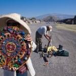 souvenir calendario Maya en teotihuacan — Foto de Stock