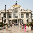 Stock Photo: Palacio de Bellas Artes in Mexico City, Mexico.