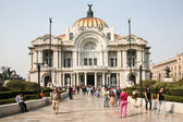 Palacio de Bellas Artes in Mexico City, Mexico. — 图库照片