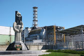 Chernobyl 4th reactor — Stock Photo
