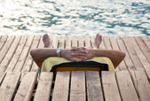 Relax on the sea — Stock Photo