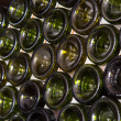 Wine bottles in a cellar — 图库照片