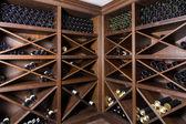 Wijn kelder — Stockfoto