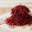 Foto de Stock  : Handful of saffron