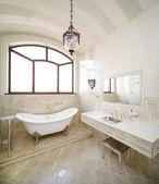 复古浴室 — 图库照片