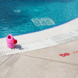 Children swimming pool — Stock Photo
