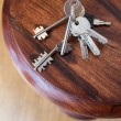 Stock Photo: Bunch of keys