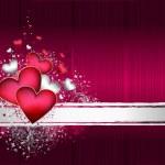 Valentines background — Stock Vector #8660781