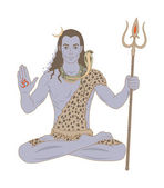 Lord Shiva — Stock Vector