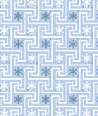 Snow pattern — Vettoriale Stock