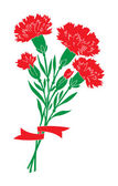 Carnations — Stock Vector