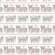 Royalty-Free Stock Vector Image: Grey elephantes