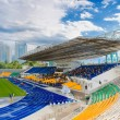 Stock Photo: Stadium landscape, Almaty, Kazakhstan