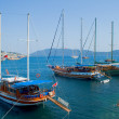 Landscape with yacht — Stock Photo #3455724