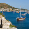 Landscape with yacht — Stock Photo #3466548
