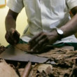 Manufacturing of cigars. Cuba. - Stock Photo