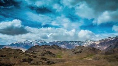 Timelapse.Spiti Valley, Himachal Pradesh, India — Stock Video