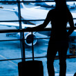 Royalty-Free Stock Photo: Passengers at the airport