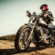 Biker girl — Stock Photo #13209444