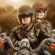Bikers — Stock Photo