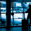 Passengers at the airport — Stock Photo #14287849