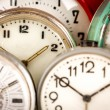 Old clock background — Stock Photo