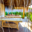 Spa salon outdoors — Foto de Stock