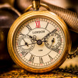 Antique pocket watch. — Stock Photo #22942082