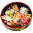 Sea food combination - Foto Stock