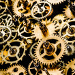 Old mechanism background - Stock Photo