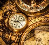 Antika cep saati. — Stok fotoğraf