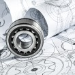 Foto de Stock  : Technical drawings