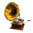 Royalty-Free Stock Photo: Gramophone on white background