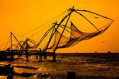 Chinese fishnets — Stock Photo