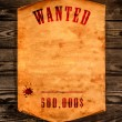 Wanted dead or alive. - Stock Photo